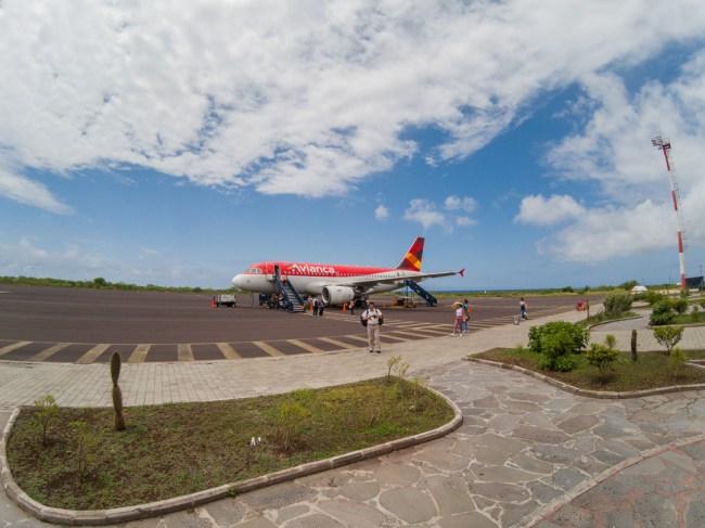 San Cristóbal Airport, Galápagos Islands -- SCY