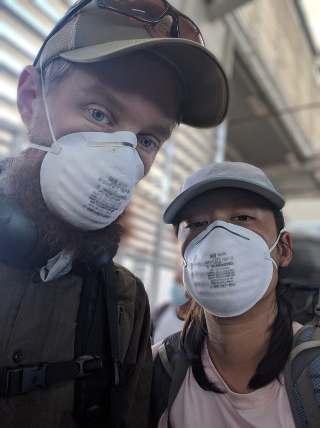 Sha and Joe, our friends stuck in Ecuador during the COVID-19 pandemic