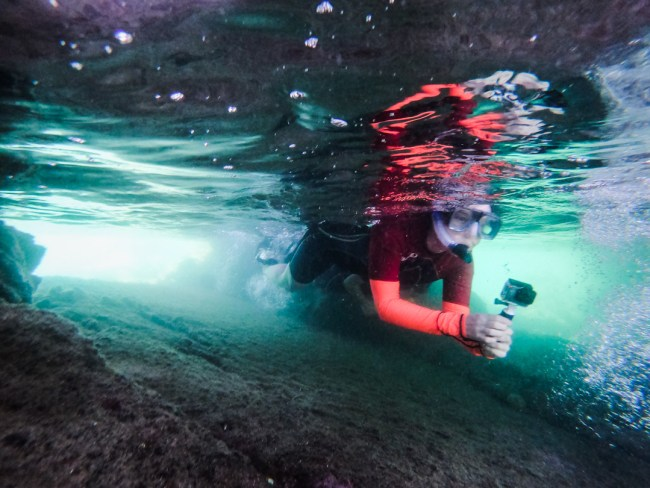 What to Pack for the Galápagos Islands: underwater camera