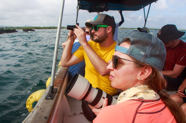 What to Pack for the Galápagos Islands: zoom camera