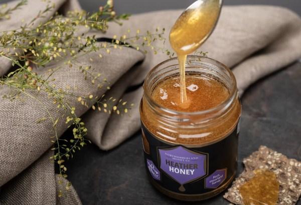 Heather Honey   Raw and Natural Honey