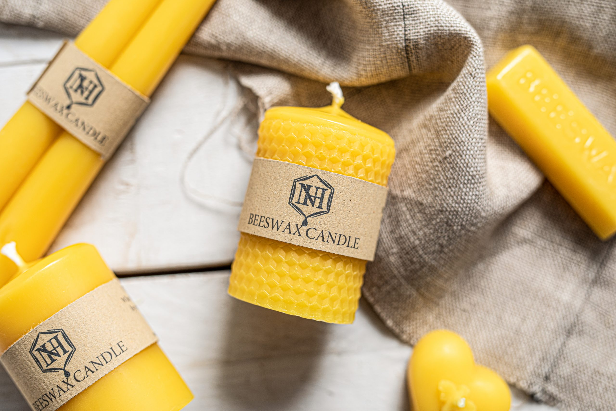 Beeswax Candles For Sale