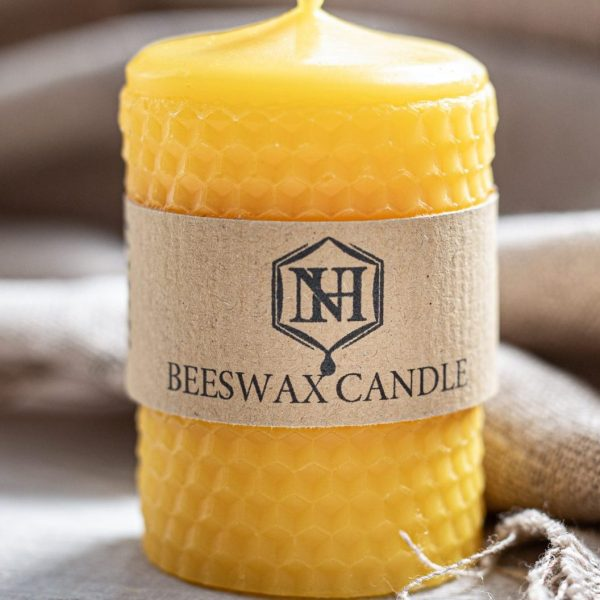 Honey Comb Beeswax Candle