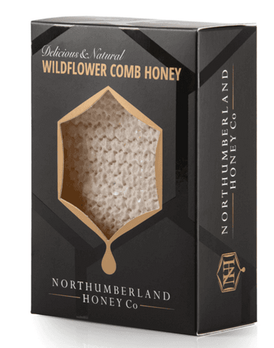 Wildflower Comb Honey by Northumberland Honey Co
