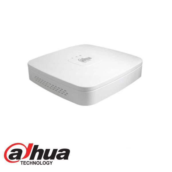 DAHUA IP 4 CHANNEL 8MP POE+ H.265 CUBE NVR - NVR2104-P-4KS2 - Northwest Security