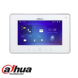 DAHUA INDOOR 7_ TOUCH SCREEN LCD MONITOR WHITE DHI-VTH5221DW