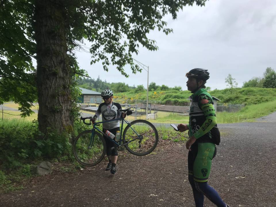 Regroup at the 2018 Elbe Multi Strada ride
