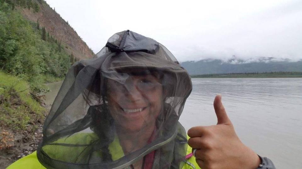 Headnets were mandatory equipment for this trip.
