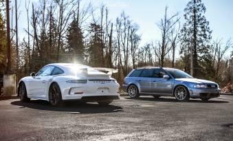 NorthWest-Auto-Salon-YIR-2015-Porsche-GT3-vs-RS4-Avant