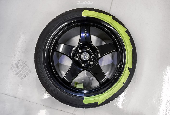 Dodge-Viper-ACR-detailed-XPEL-Paint-Protection-wheel-polishing-50-50-2