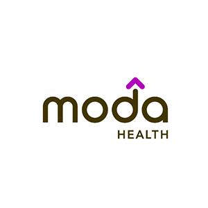 Moda Health logo with link