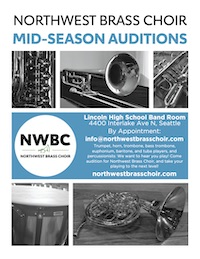 NWBC Mid-Season Audition Flyer
