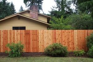 Cedar fences Silverdale