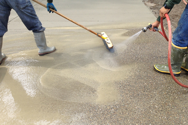 exposed aggregate driveway kitsap