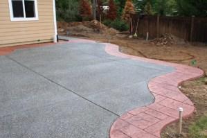 decorative concrete border