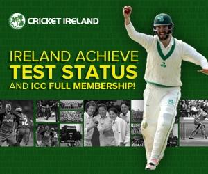 cricket Ireland Test status