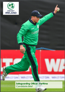 NWCU Cricket ireland Safeguarding officer