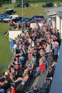 Bready Crowd at Warriors v lightning t20