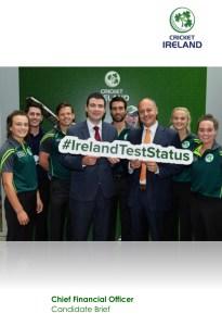 Cricket Ireland Cheif Financial Officer Vacancy
