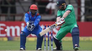 Paul Stirling Ireland Vs Afghanistan August 2018 Bready Cricket Club