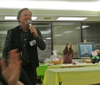 Our Lively Auctioneer, Randy Barber