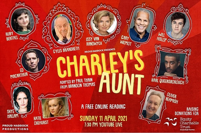 Charley's Aunt – Proud Haddock Productions