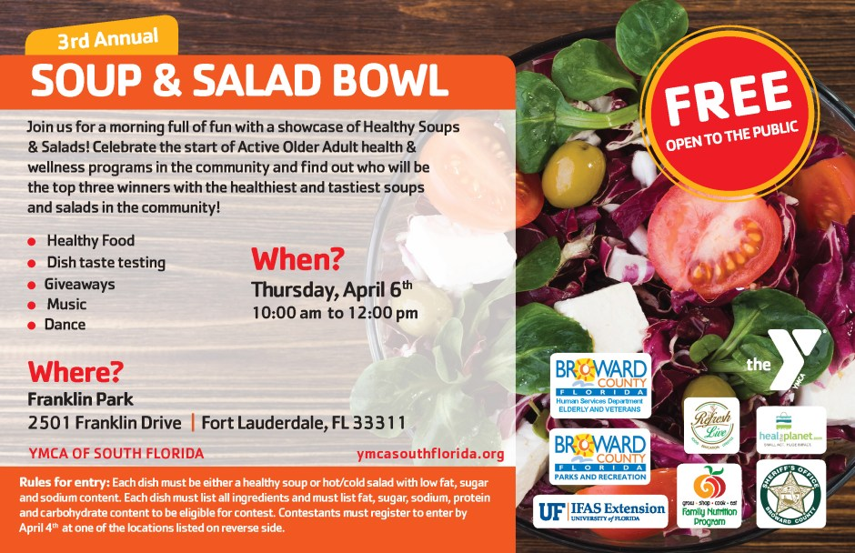 3rd Annual Soup & Salad Bowl FRONT