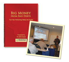 Big Money from Bad Debts - 3 Day Live Class