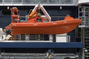 FRB fast rescue boat training