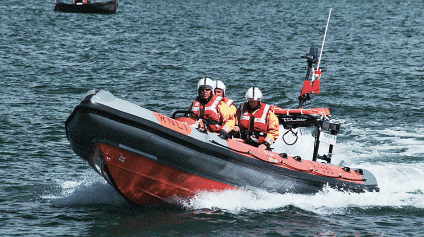 FRB Fast Rescue Boat Course