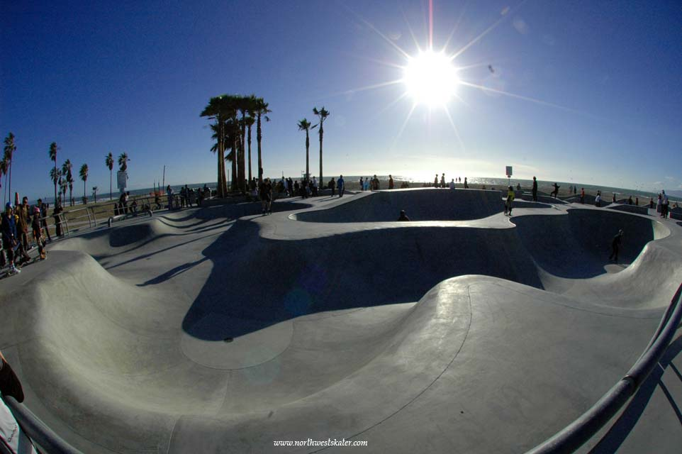 Venice Beach Skatepark California