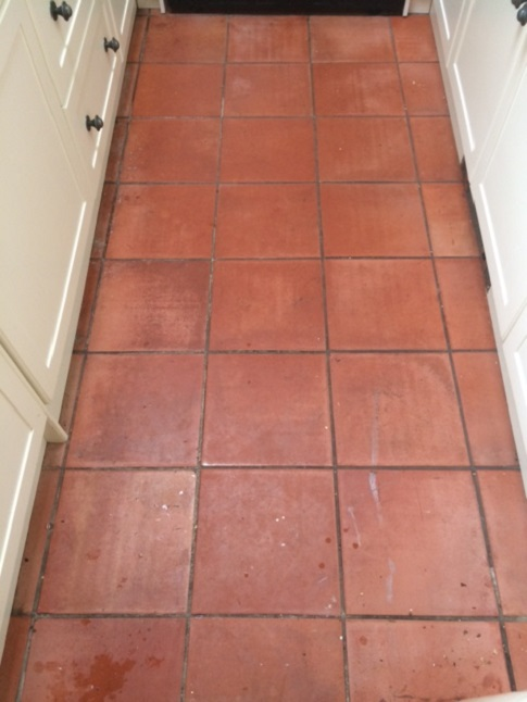 spanish terracotta tiles refreshed in