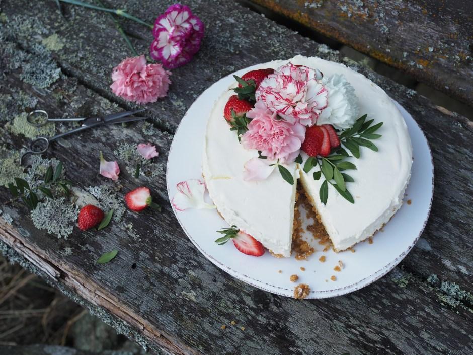 Norwegian Cheesecake (Ostekake)