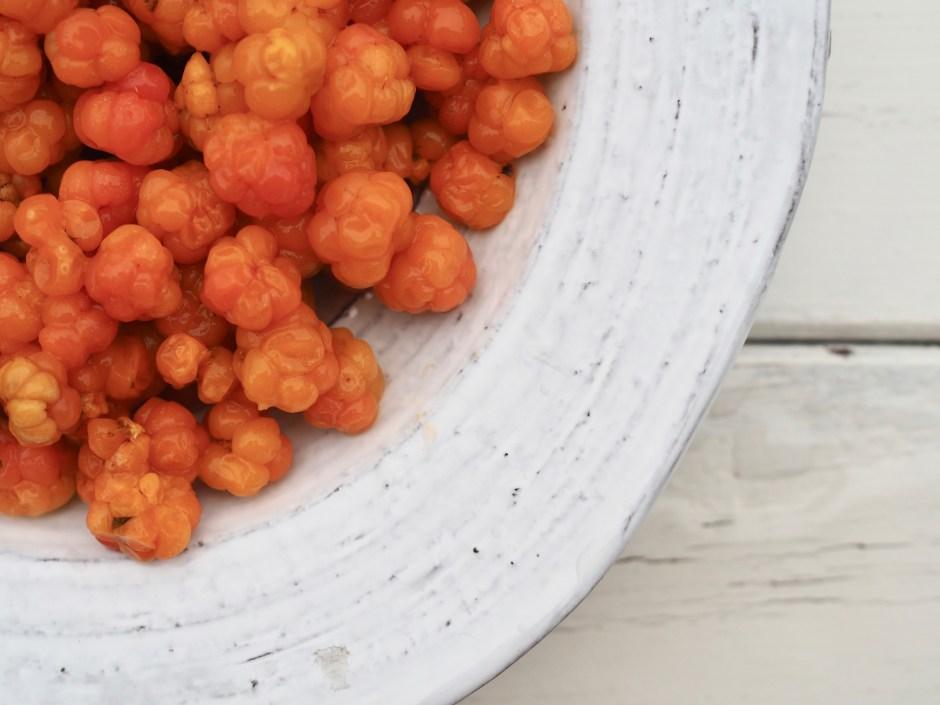 Multekarameller (Cloudberry Caramels)