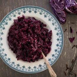 Rødkål (Norwegian Braised Red Cabbage)
