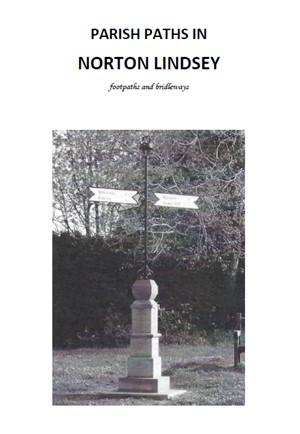 Norton Lindsey parish paths booklet