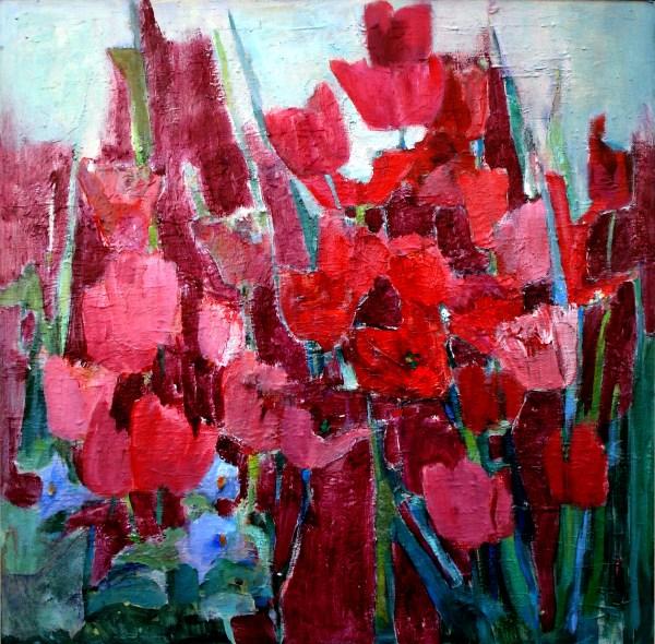 Glenda Hares - Red in Bloom