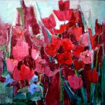 Glenda Hares - Red in Bloom