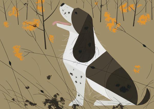 Charley Harper - Springer Spaniel