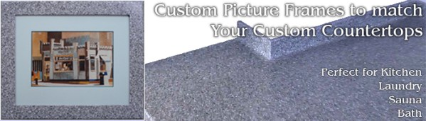 Custom Framing for Custom Countertops