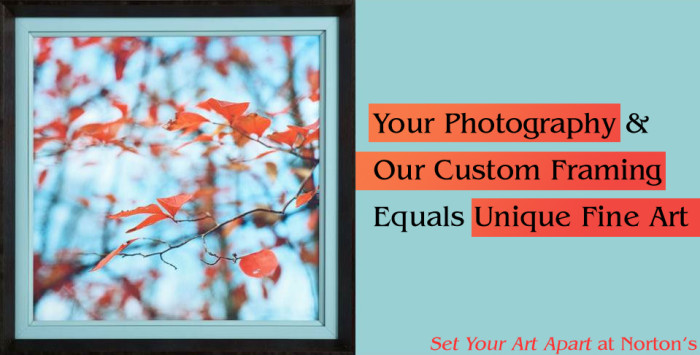 Your Photography & Our Framing