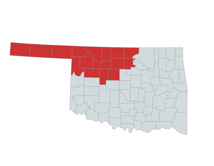 NORTPO Oklahoma counties served