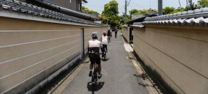 CYCLING THE BACKSTREETS OF KYOTO