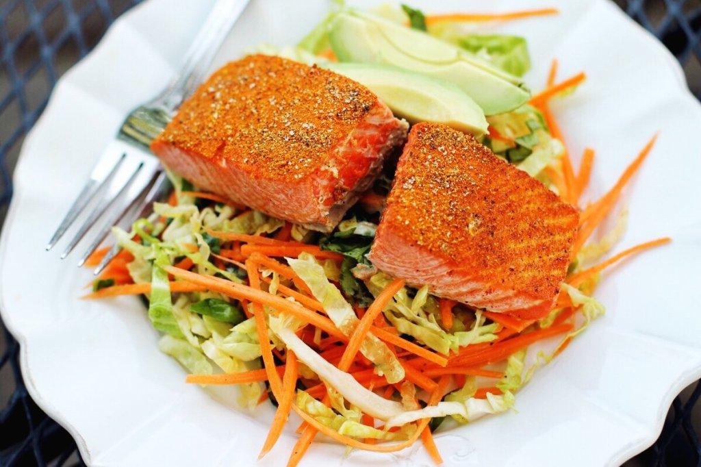 salmon and slaw