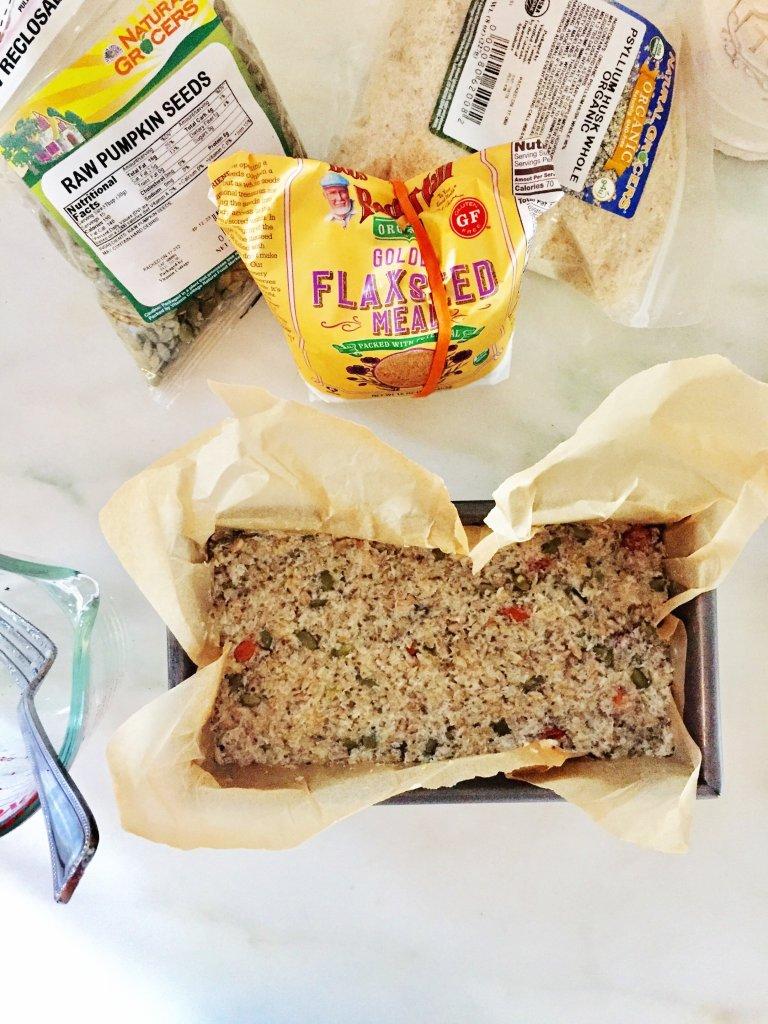 egg-free, paleo bread