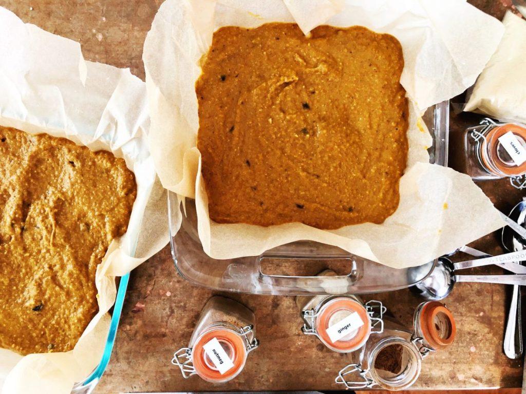 gluten free pumpkin pie filling