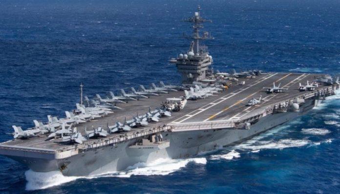 USS Roosevelt în Norvegia