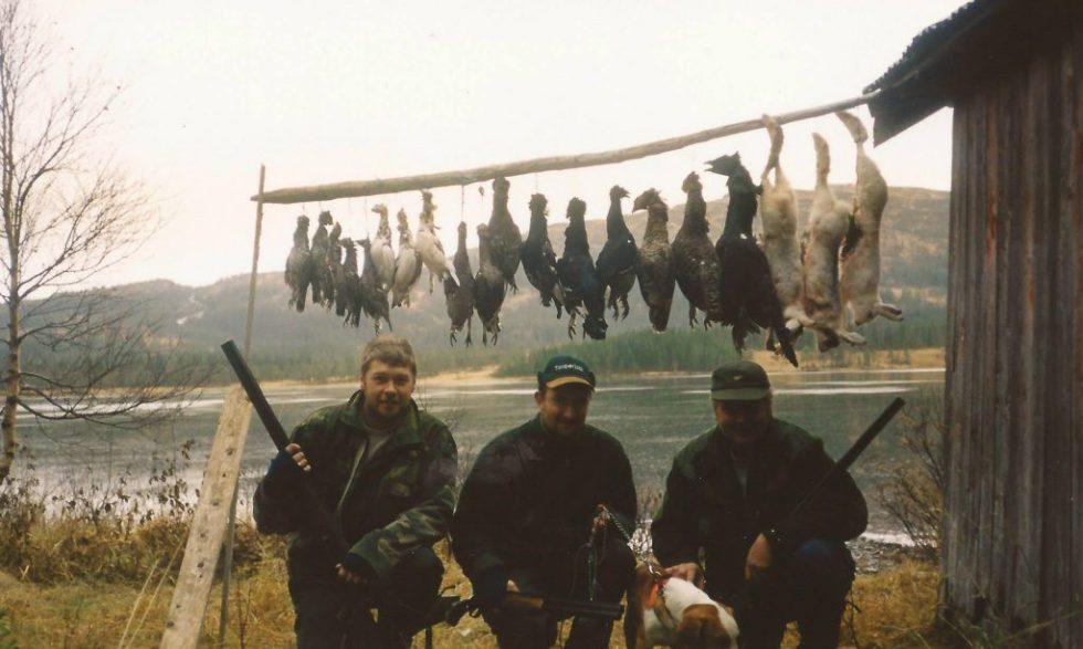 Fuglejakt med Johnny Hagen