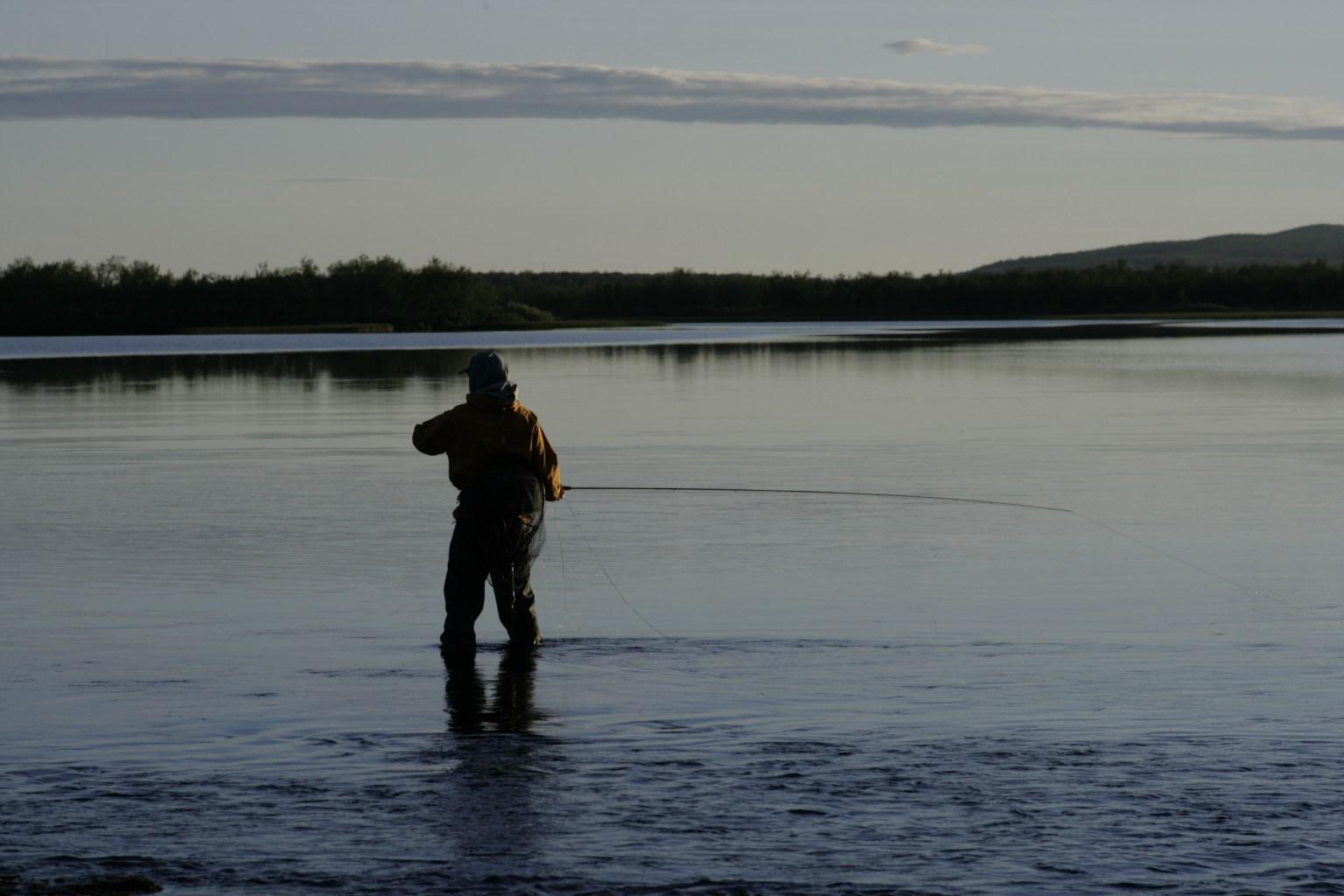 Fisketur med Norvilt