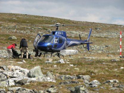 Helikopter til fisketurer